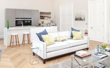 See how a part of the west end of Edinburgh has been reclaimed for residential use