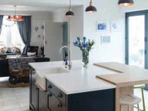 Bringing together a mix of eras and styles, the decor of this Ayrshire dwelling works