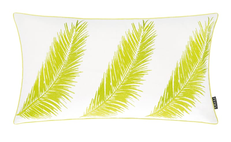 Three Palm Cushion, £110, A by Amara