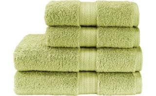 Renaissance Towel in Fern Green, from £5, Christy