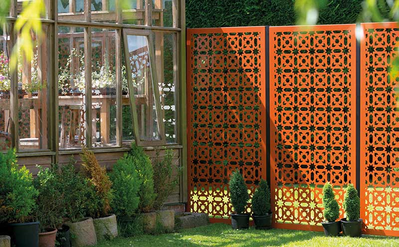 Aden panel in Burnt Orange, £295, Decori