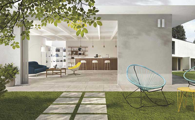 Inside & Outside collection, from £68.63 per sqm for outside tiles, Gemini Tiles