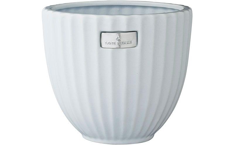 Rosalie Flower Pot in White, £16.50, Lene Bjerre