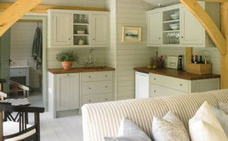 All of the joinery is bespoke, designed by Stephanie and built by The English Joinery Company
