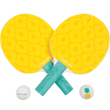 LIFE'S A BEACH It's game on with Sunnylife's Beach Ping Pong in Pineapple