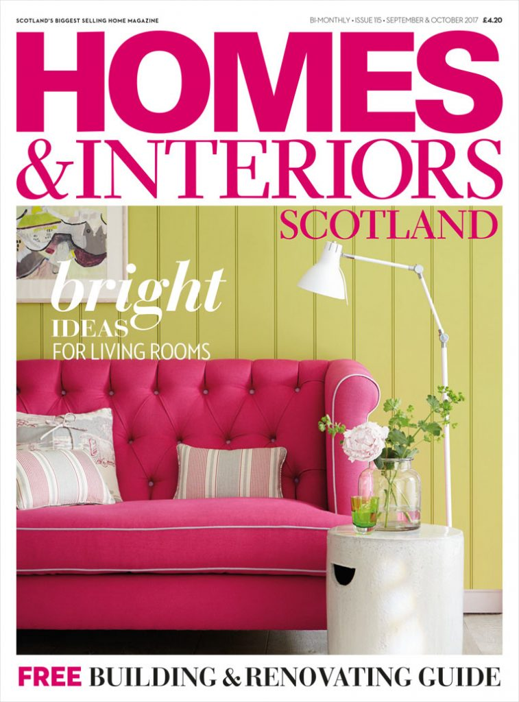 Homes & Interiors Scotland cover