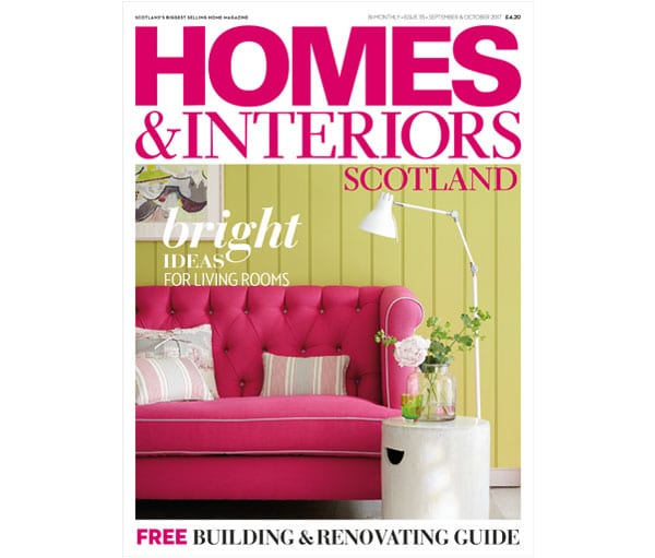 Homes and Interiors Scotland Issue 115 front cover