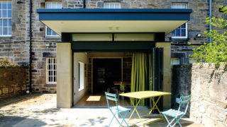 A remodelled Georgian townhouse in Edinburgh brings in air and light