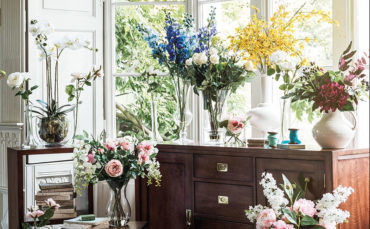 Fake flowers are upping the style stakes