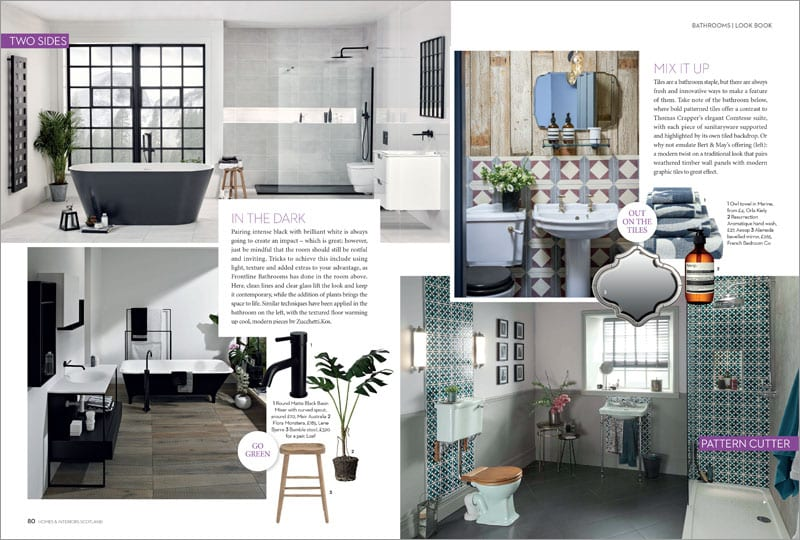 BATHROOMSLOOK BOOK Designs to drool over, p80-81
