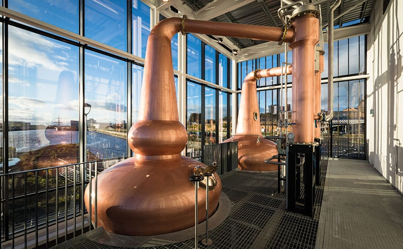 Clydeside Distillery inside