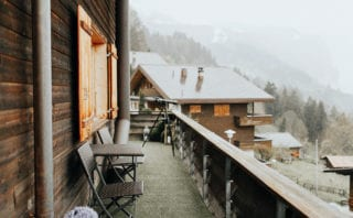 Chalet - outside