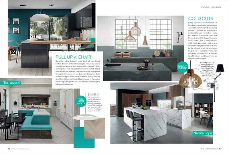 KITCHENS LOOK BOOK spread