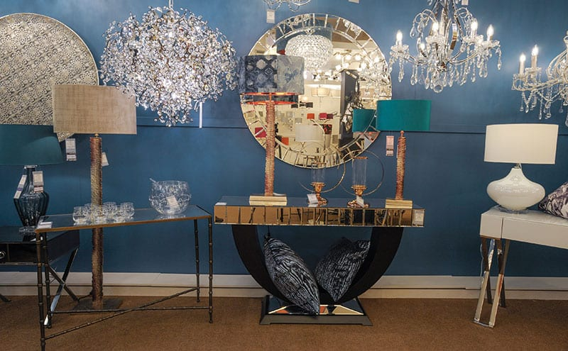 Striking, contemporary designs on display