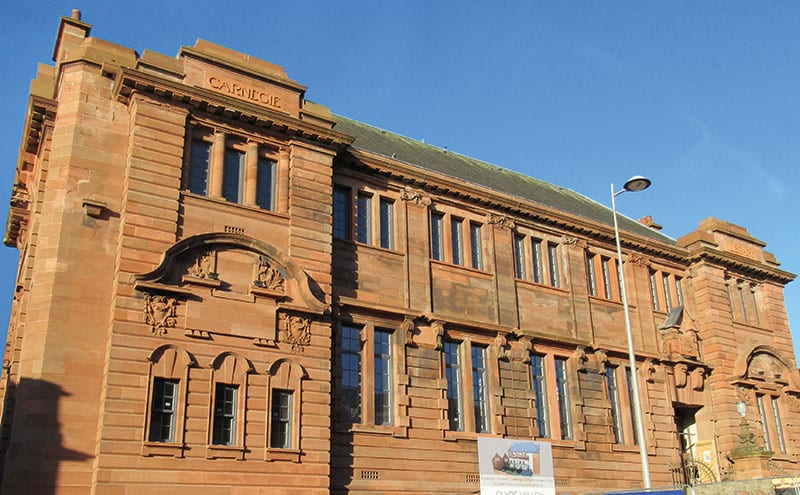 Carnegie Library, Coatbridge
