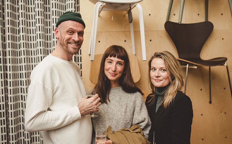 Dan Fox, Catharine Craig and Jodi Fox of The Method
