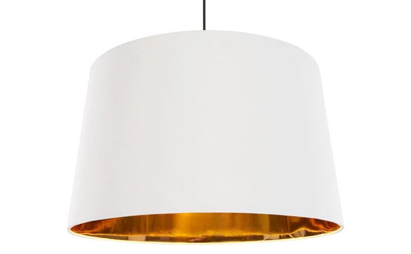 Extra Large Hue Pendant White Copper, £49, Made.com