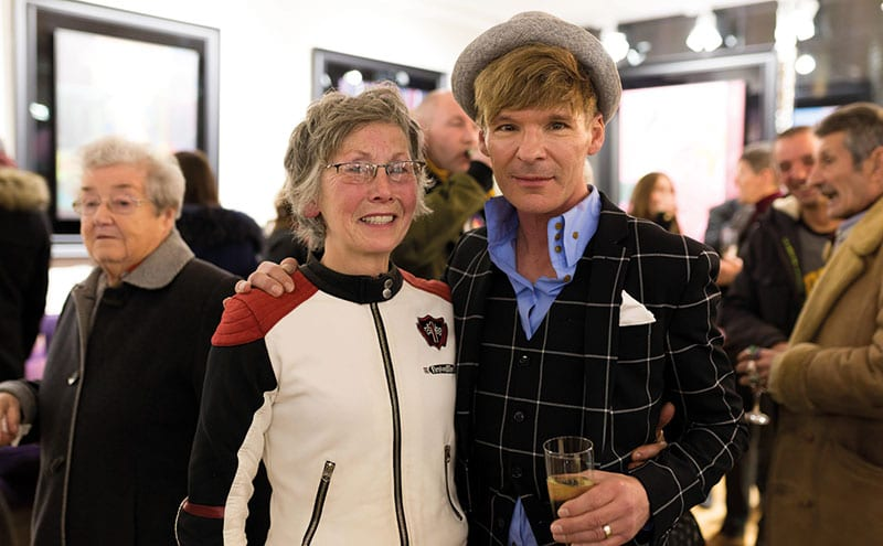 Liz Thompson and Stuart McAlpine Miller