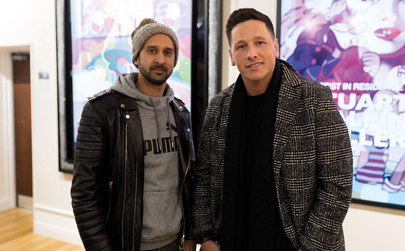 Shabaz Mahammod and Paul Gaugh