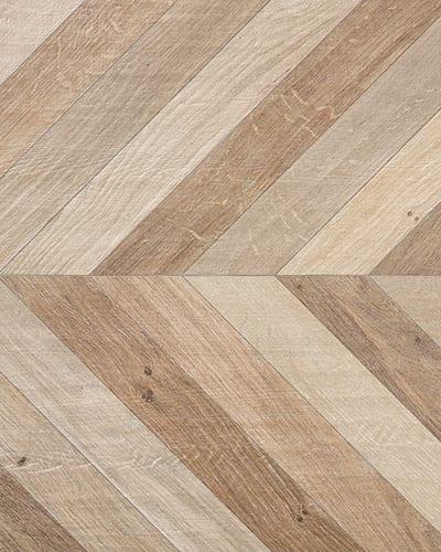 Cherished Mix Wood Effect Chevron Tiles, £49.95 per sqm, Walls and Floors