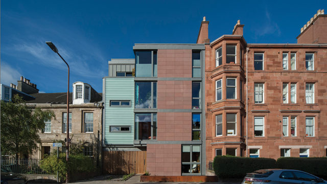 It could be the future of Scottish house building, an eco-friendly tenement