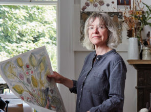 Meet the maker: Angie Lewin, printmaker