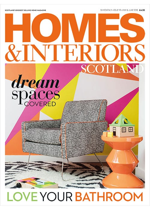 Homes & Interiors Scotland Issue 119 Front cover
