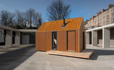 A clever interpretation of a classic bothy offers an artistic solution to make and shelter