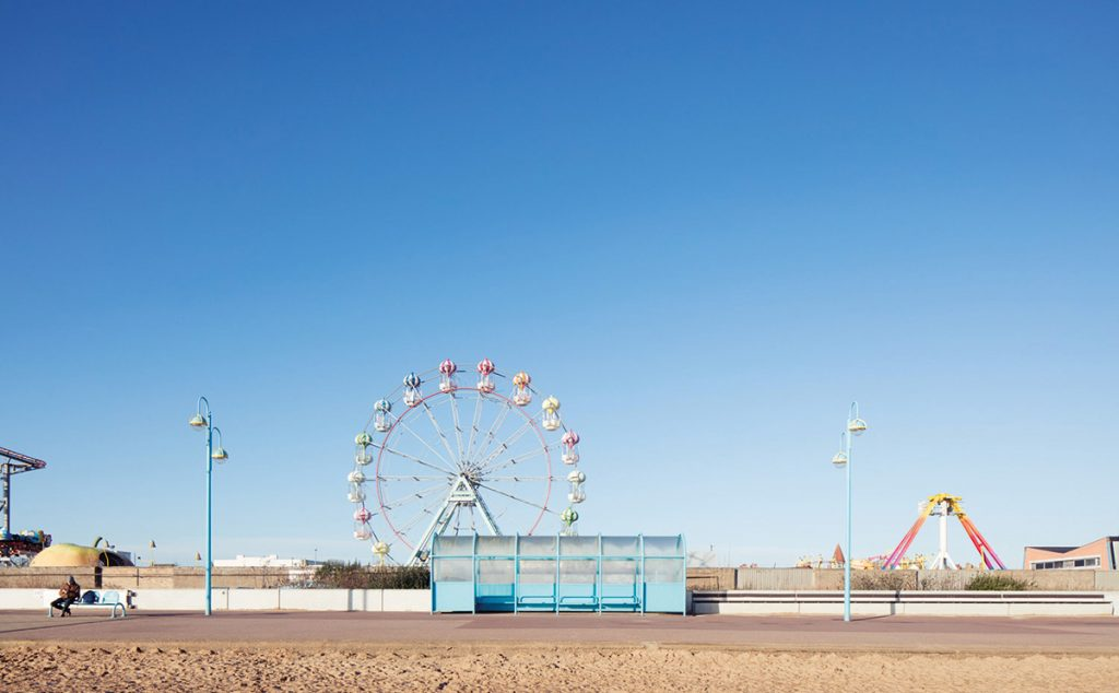 Seaside shelters