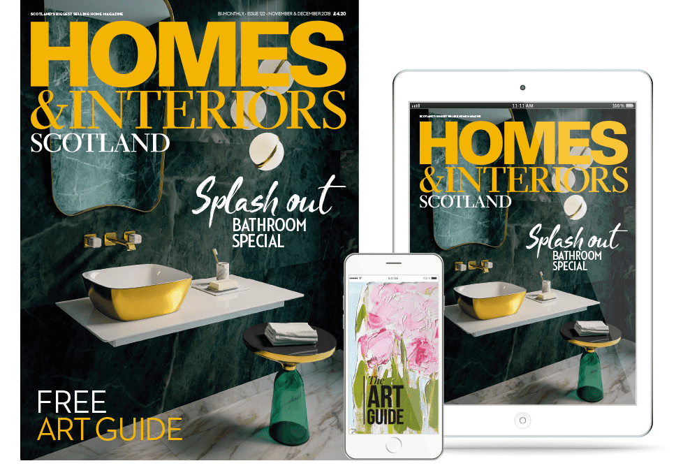 Digital edition of Homes & Interiors Scotland magazine