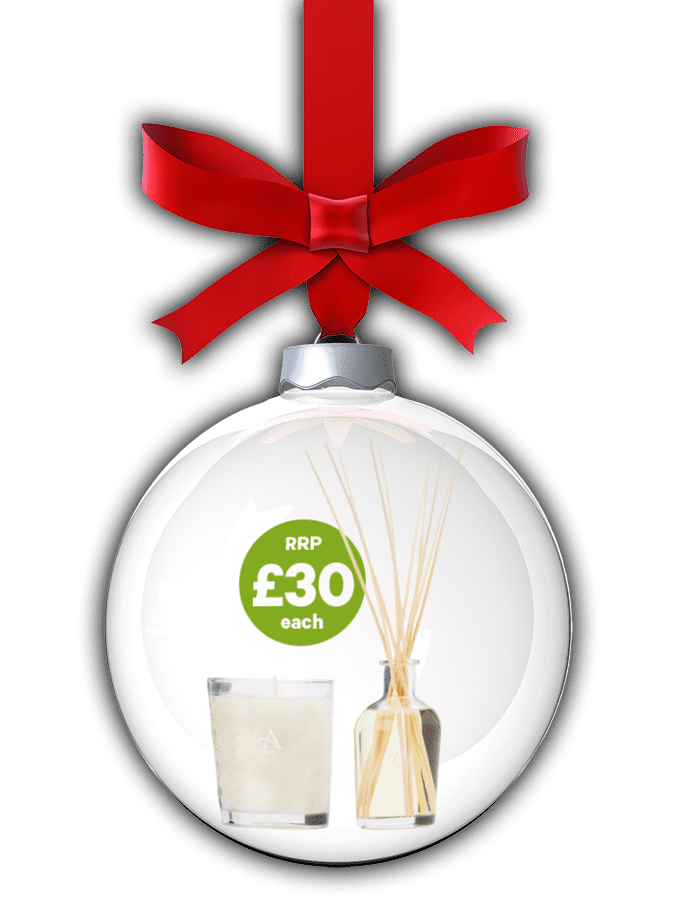 Arran Sense of Scotland scented candle and reed diffuser