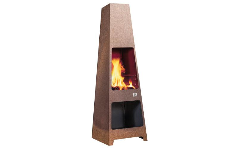 Jøtul Loke patio fire-place, from £399, Jøtul