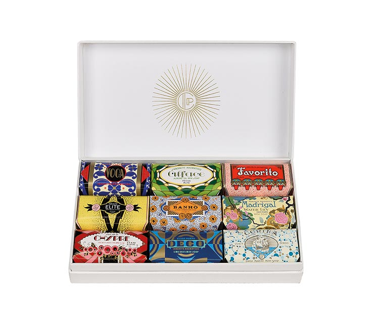 Claus Porto mini soap set, £60, Liberty London