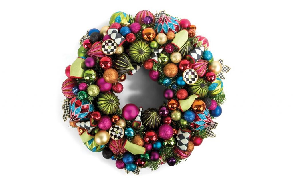 Small nutcracker wreath, £435, Harrods