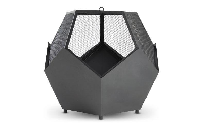 VonHaus pentagonal fire pit, £89.99, Domu Brands