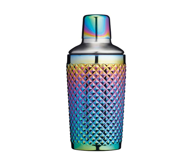 Kitchen Craft BarCraft rainbow cocktail shaker, £17.99, John Lewis