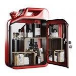 Danish fuel bar cabinet, £675, Nordic Living