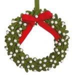 Felt mistletoe wreath, £18, Laura Ashley