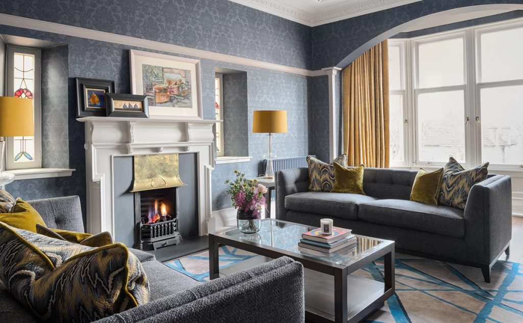 This glasgow tenement has been transformed into a sophisticated