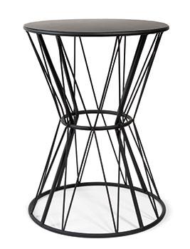 Black Metal End Table by Grafik, £35.99, Maisons du Monde