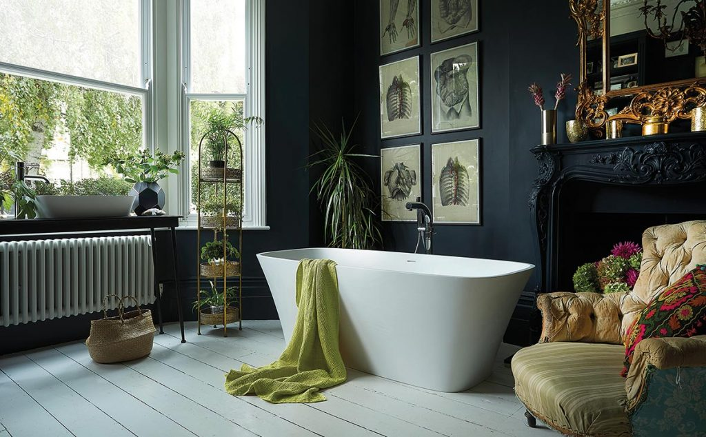 Freestanding bath by Waters Baths of Ashbourne