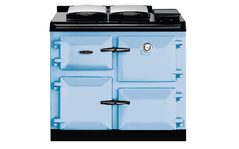 600 Series in duck egg blue, from £9,795, Rayburn