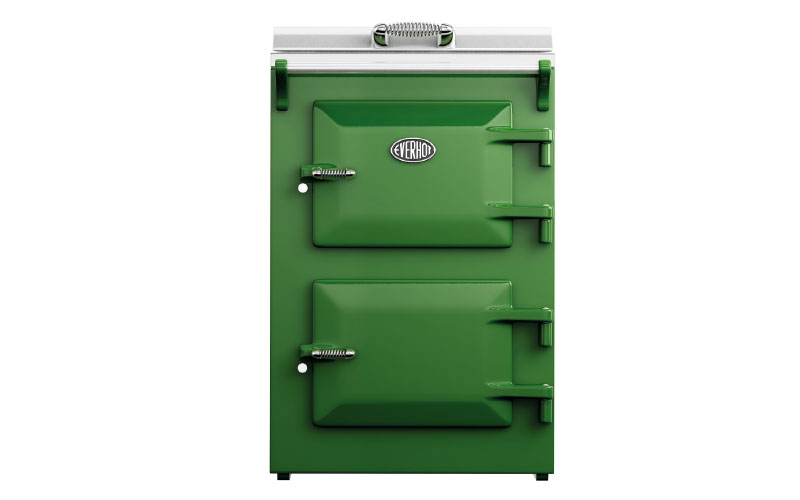 Everhot 60 in fern green, £5,195, Everhot Cookers