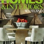 Homes & Interiors Scotland Issue 123 front cover
