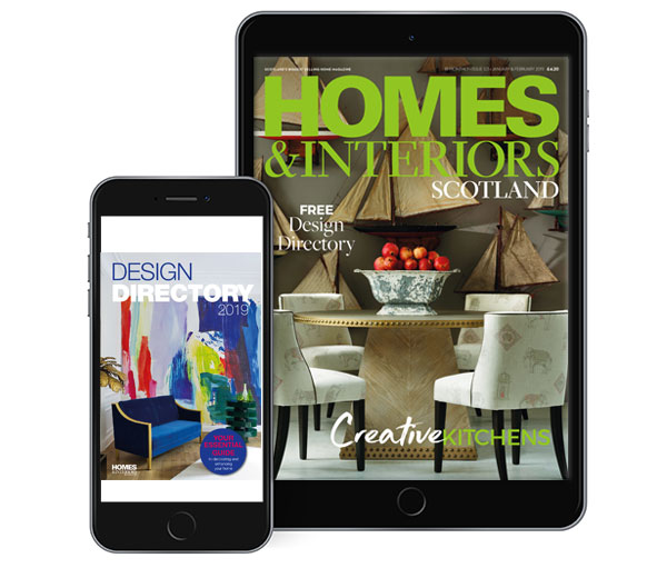 Go Digital - get Homes & Interiors Scotland online