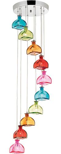 Sarandon ten-light cluster pendant, £142.99, Wayfair