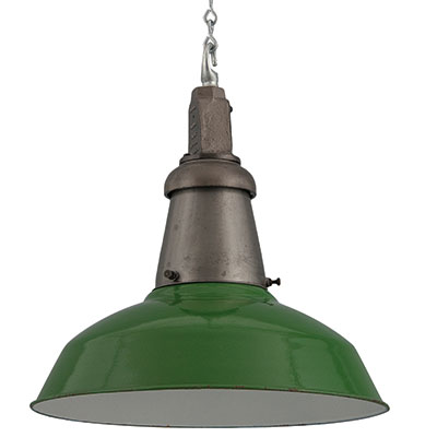Industrial pendant lighting by Wardle, £420, Skinflint