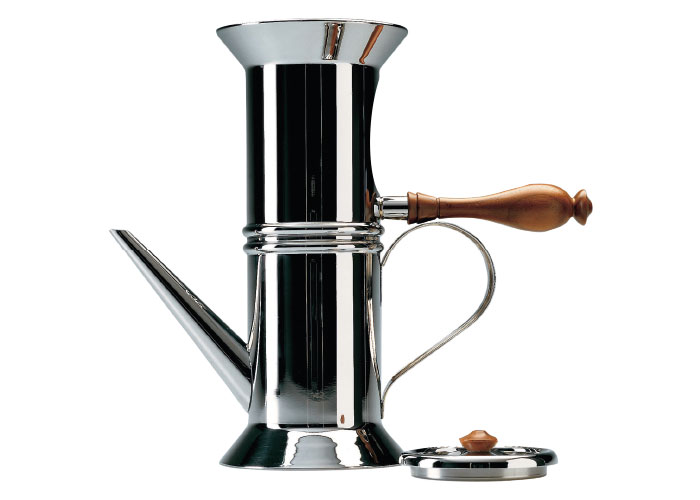 Neopolitan coffee maker by Alessi, £280, Black by Design