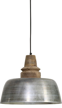 Silver Margo ceiling lamp, £145, Lombok