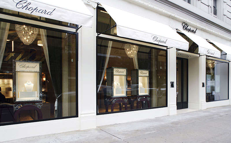 The brand's flagship boutique on Madison Avenue